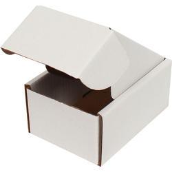 10x7x4,5cm Kilitli Kutu - Beyaz - Thumbnail