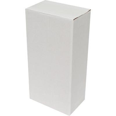 12x12x29cm Tek Oluklu Koli - Beyaz