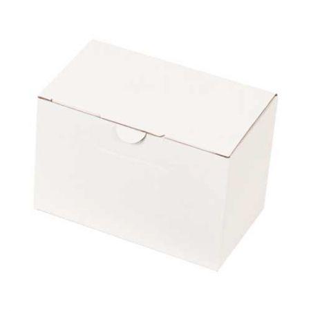 12x7x8cm Kilitli Kutu - Beyaz