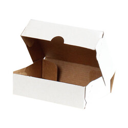 14x10x4cm E-Ticaret Kargo Kutusu [4 Nokta] - Beyaz - Thumbnail