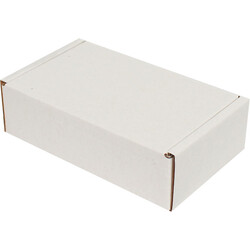 14x8x4cm Kilitli Kutu - Beyaz - Thumbnail