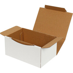 15,5x11x7,5cm Beyaz Kutu - Thumbnail