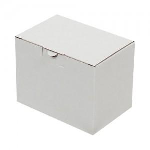 15x10x11cm Kilitli Kutu - Beyaz - Thumbnail