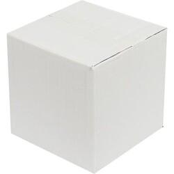 15x13x12cm Tek Oluklu Koli - Beyaz - Thumbnail