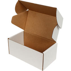 15x8x6,5cm Kilitli Kutu - Beyaz - Thumbnail