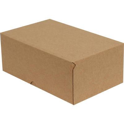 17x12,5x5,5cm E-Ticaret Kargo Kutusu [4 Nokta] - Kraft