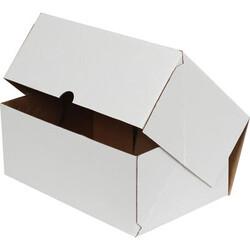 17x12,5x7,5cm E-Ticaret Kargo Kutusu [4 Nokta] - Beyaz - Thumbnail