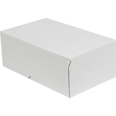 17x12,5x7,5cm E-Ticaret Kargo Kutusu [4 Nokta] - Beyaz