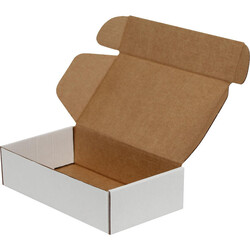 18x10x4,5cm Kilitli Kutu - Beyaz - Thumbnail