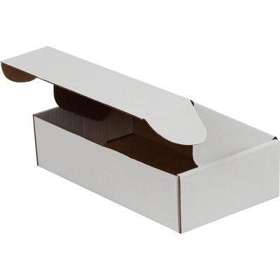 18x10x4,5cm Kilitli Kutu - Beyaz