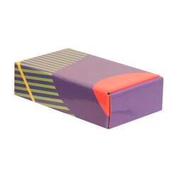 18x10x4,5cm Desenli Kutu - Lacivert-Bordo-Yeşil - Thumbnail
