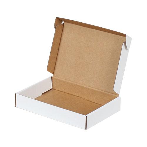 18x12x3cm Kilitli Kutu - Beyaz - Thumbnail