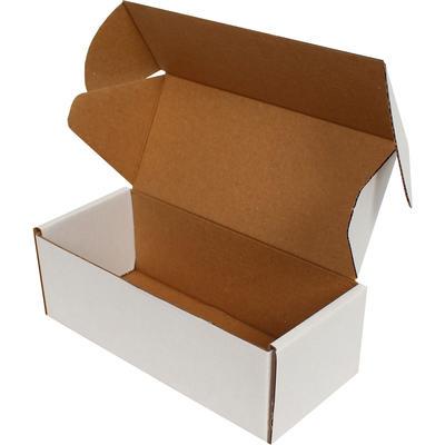 18x7,5x6cm Kilitli Kutu - Beyaz