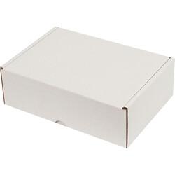 19x13x6cm Kilitli Kutu - Beyaz - Thumbnail
