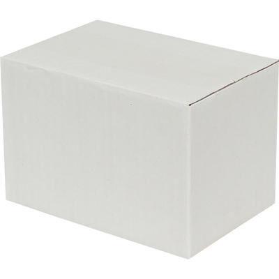 20x10x10cm Tek Oluklu Koli - Beyaz