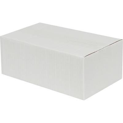 20x15x10cm Tek Oluklu Koli - Beyaz