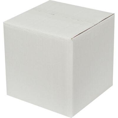 20x20x20cm Çift Oluklu Beyaz Koli