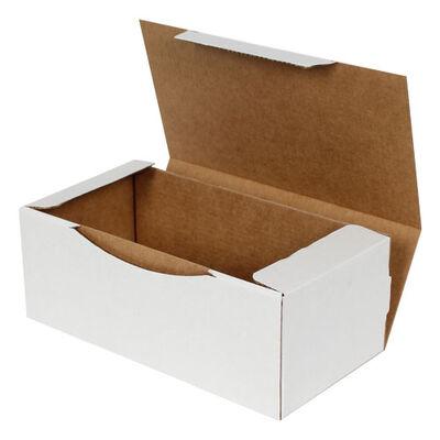 22,5x12x8cm Kilitli Kutu - Beyaz