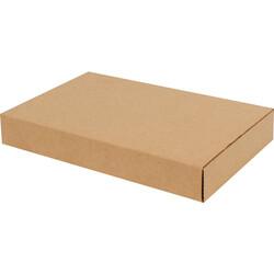 22x14,5x3,5cm Kitap Kutusu - Kraft - Thumbnail