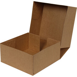 24,5x24,5x11,5cm E-Ticaret Kargo Kutusu [4 Nokta] - Kraft - Thumbnail