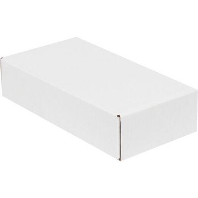 24x12x5,5cm Kilitli Kutu - Beyaz