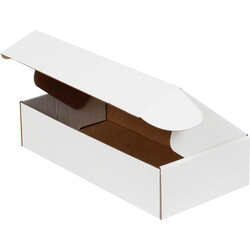 24x12x5,5cm Kilitli Kutu - Beyaz - Thumbnail