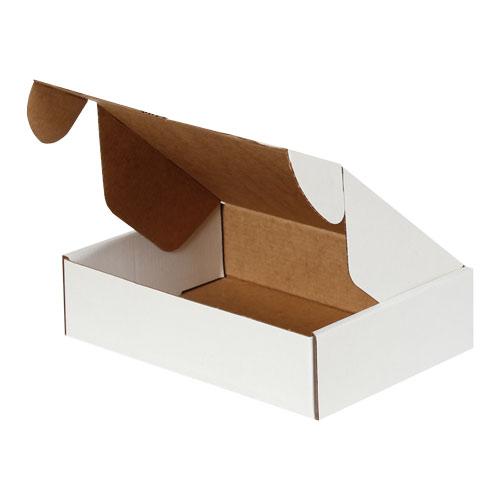 24x16,5x6cm Kilitli Kutu - Beyaz - Thumbnail