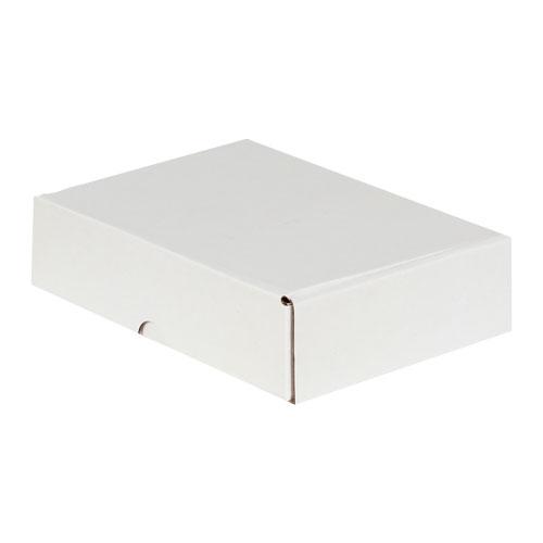 24x16,5x6cm Kilitli Kutu - Beyaz