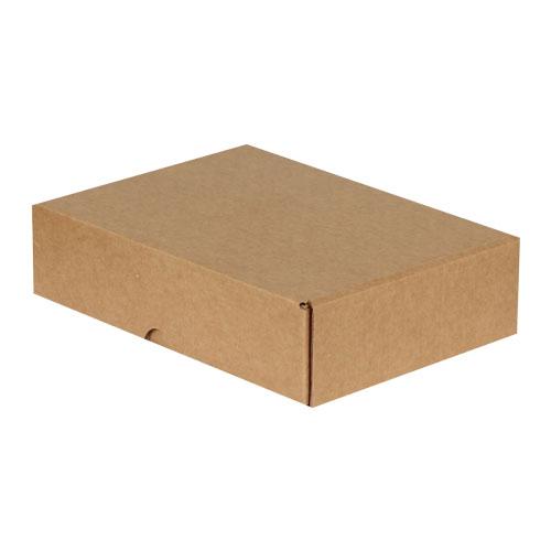 24x16,5x6cm Kilitli Kutu - Kraft - Thumbnail