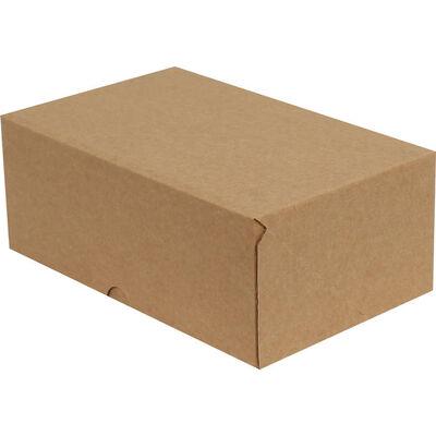 25x16x10cm E-Ticaret Kargo Kutusu [4 Nokta] - Kraft