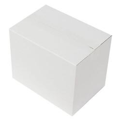 25x17x20cm Seperatörlü Uzun Bardak Kolisi - Beyaz - Thumbnail