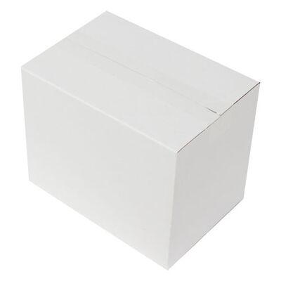 25x17x20cm Seperatörlü Uzun Bardak Kolisi - Beyaz