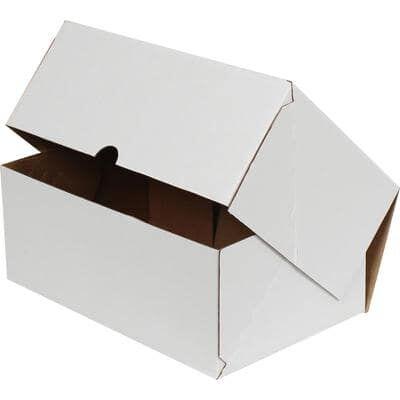 26x12x7,5cm Beyaz E-Ticaret Kargo Kutusu [4 Nokta]