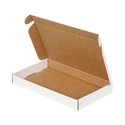 28x16x3,5cm Kilitli Kutu - Beyaz