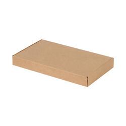 28x16x3,5cm Kilitli Kutu - Kraft - Thumbnail