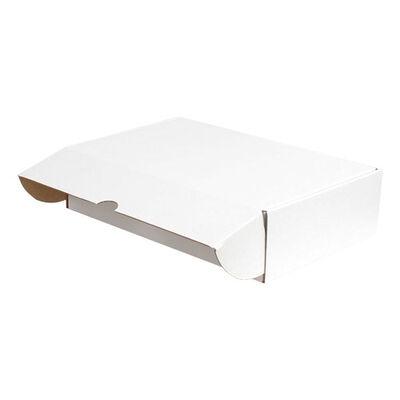 28x18x7cm Kilitli Kutu - Beyaz