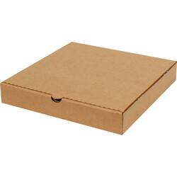 28x28x4,5cm Pizza Kutusu - Kraft - Thumbnail