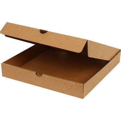 28x28x4,5cm Pizza Kutusu - Kraft