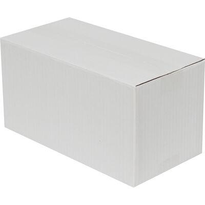 29x15x15cm Tek Oluklu Koli - Beyaz