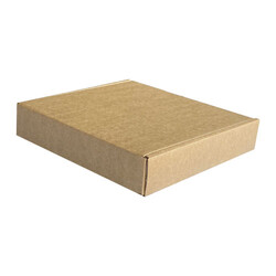 30x22x5,5cm Çift Oluklu Kutu - Kraft - Thumbnail