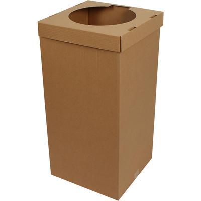 35,5x35,5x70cm Atık Kağıt Kolisi - Kraft