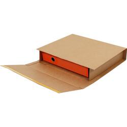 35x32x8cm Kitap Kutusu - Kraft - Thumbnail
