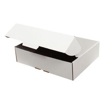 40x30x10cm Kilitli Kutu - Beyaz