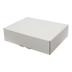 40x30x10cm Kilitli Kutu - Beyaz - Thumbnail