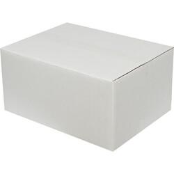 40x30x20cm Çift Oluklu Beyaz Koli - Thumbnail