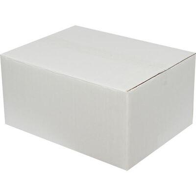 40x30x20cm Çift Oluklu Beyaz Koli
