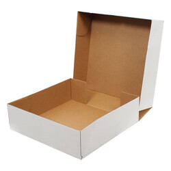 40x40x12cm E-Ticaret Kargo Kutusu [4 Nokta] - Beyaz - Thumbnail