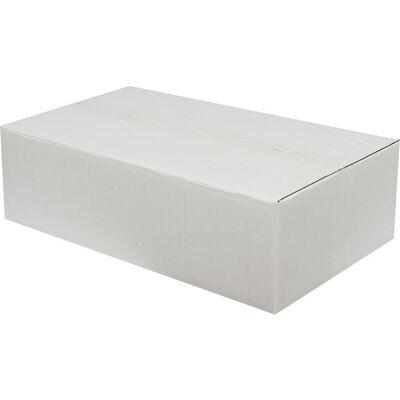 50x30x15cm Çift Oluklu Beyaz Koli