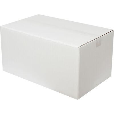 50x30x25cm Çift Oluklu Beyaz Koli