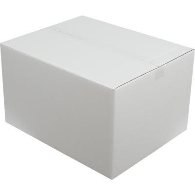 50x40x25cm Beyaz Çift Oluklu Koli